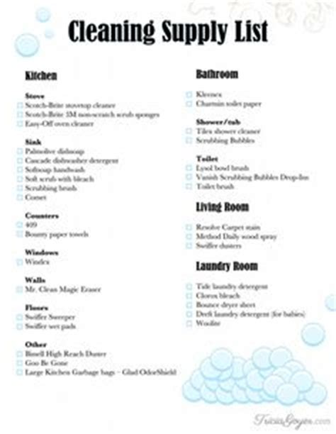 janitorial supply list template house cleaning services house cleaning service agreement