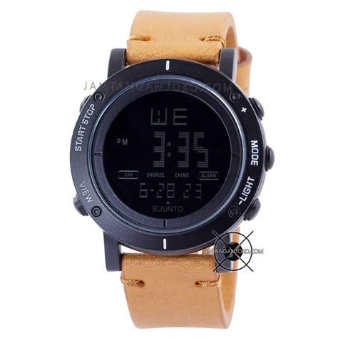 Suunto Digital Kulit harga sarap jam tangan suunto essential hitam coklat muda