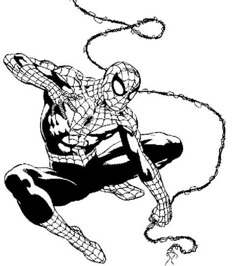 Dibujos Para Pintar Hombre Araña | dibujos hombre ara 209 a para pintar