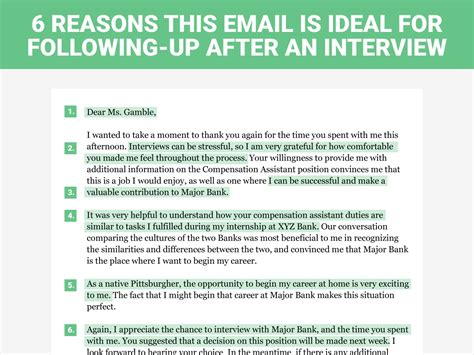 thank you letter to interviewer after is not offered the follow up letter business insider