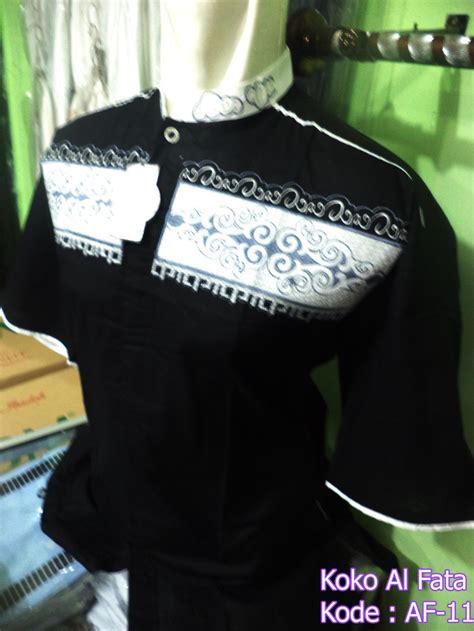 Koko Alharamain Hitam baju koko hitam