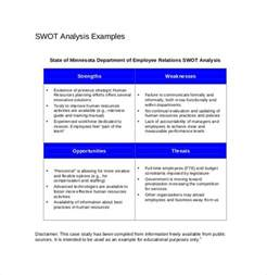 sample swot analysis report swot analysis template 46 free word excel pdf free swot analysis templates 14 download documents in pdf word