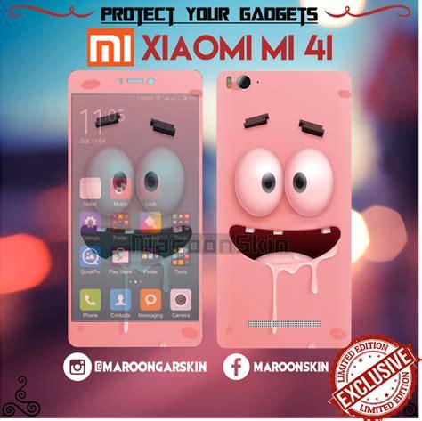 Garskin Xiaomi Mi 5 Motif Carbon jual garskin xiaomi mi4i mi 4i motif patrik 3d