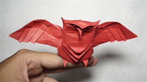 origami tutorial hard paper owl origami owl tutorial diy henry phạm youtube
