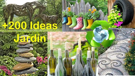 decorar tu jardin con cosas recicladas reciclado para decorar jard 237 n ideas recycling for garden