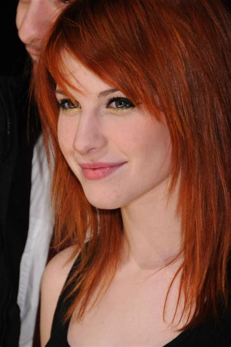 is hailey williams hair naturally red hayley william s hair images orange brown hair wallpaper