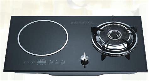 induction heater vs gas stove combined cooker gas stove induction cooker kdf 20scq03 in plates from home improvement
