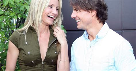 tom cruise gets married tom cruise questioned over cameron diaz relationship in