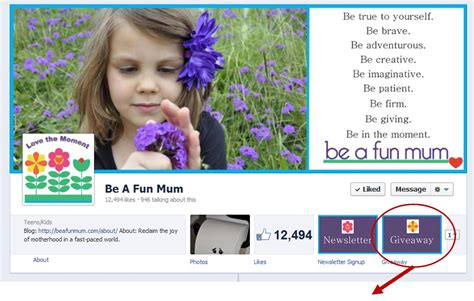How To Find Giveaways On Facebook - be a fun mum on facebook be a fun mum