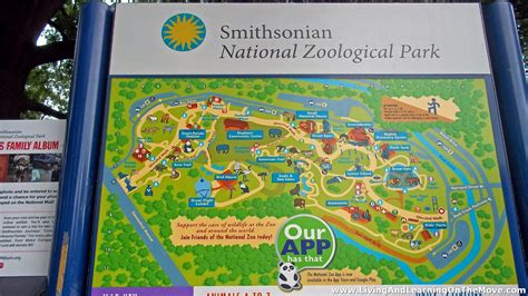 national zoo map living and learning on the move