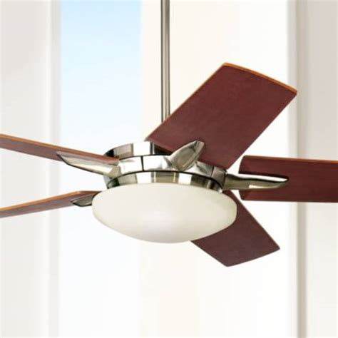 52 quot casa endeavor brushed nickel ceiling fan 90515