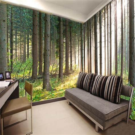 Living Room Wallpaper Buy Aliexpress Buy Free Shipping 3d Wallpaper Nature