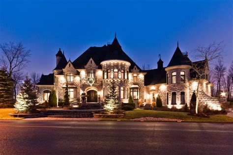 castle style homes inspired home building plans