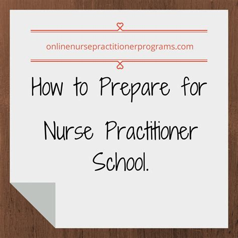 how to prepare for practitioner school