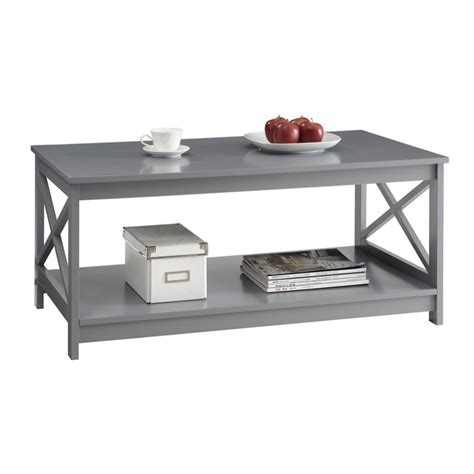coffee table in gray 203082gy