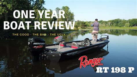 reviews on ranger aluminum boats ranger aluminum boats rt 198 p one year boat review youtube