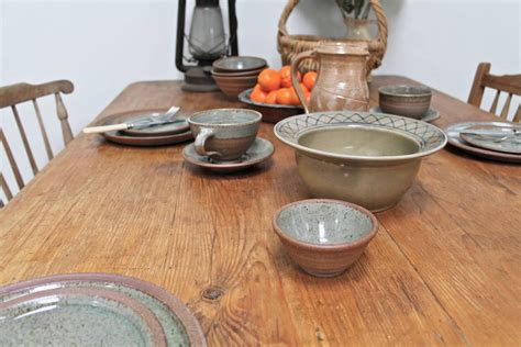 Large Distressed Pine Country Kitchen Large Distressed Pine Country Kitchen Table By Distressed