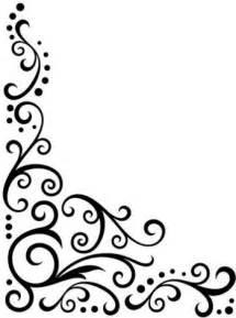 darice embossing folder scroll flourish corner