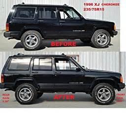 jeep xj 2 quot budget boost lift kit poly