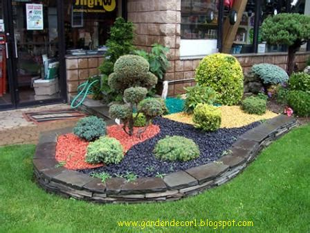 garden decor garden decorative stones