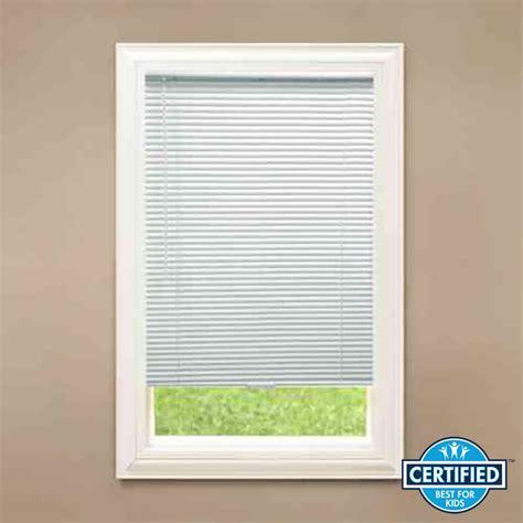 hton bay l shades better homes and garden 1 vinyl cordless mini blind white