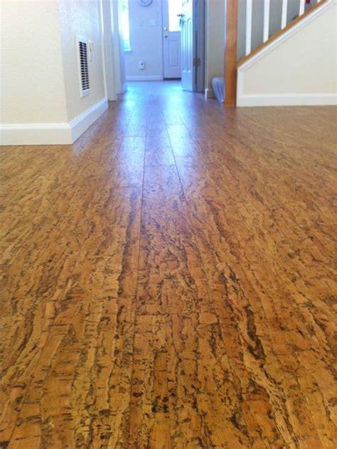 exle of cork flooring floor ideas pinterest