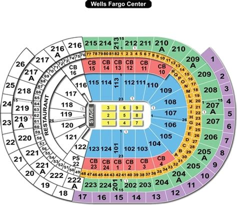 fargo center philadelphia seating chart hey philadelphia here is the ultimate fargo center