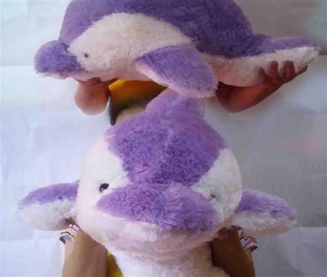 Boneka Lumba Lumba Ukuran Jumbo Boneka Besar Boneka Jumbo jual boneka dolphin warna ungu ukuran sedang harga murah