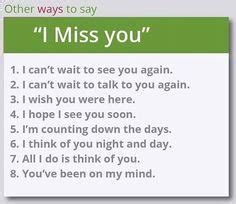 7 Ways To Say I You by 1000 Images About Other Ways To Say On Learn