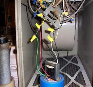 wiring power transformer to furnace