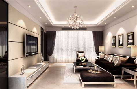 pin latest ceiling designs living room rendering 3d house interior decoration living room rendering with tv wall