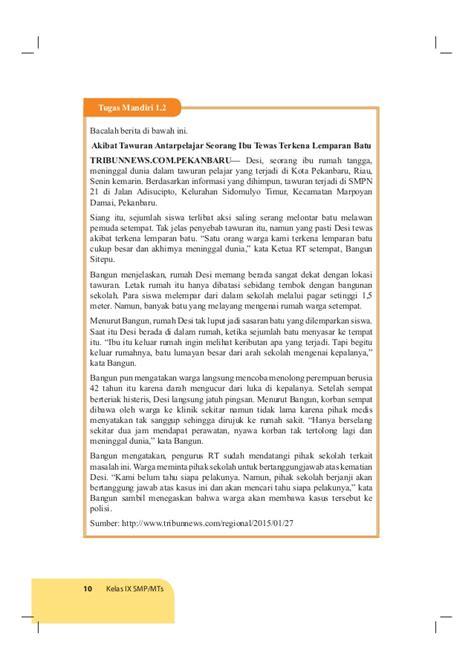 Mandiri Pendidilan Pancasila Dan Kewarganegaraan Untuk Smp Kelas V11 buku siswa ppkn kelas 9 smp