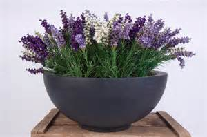 Large Indoor Planter by Artificial Lavender Display The Artificial Plants Shop