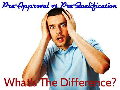 Mortgage Pre Qualification Letter Vs Pre Approval Mortgage Pre Approval Vs Pre Qualification Letter