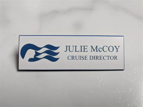boat names with julie the love boat julie mccoy name badge tag cosplay halloween