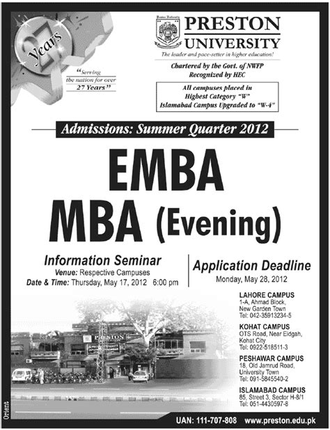 Bond Mba Requirements by Admissions In Mba 2012 Learningall