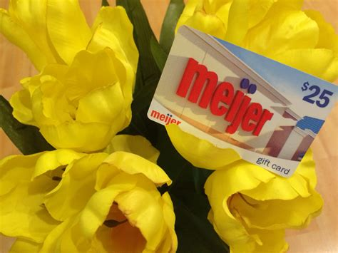 Meijer Gift Card Exchange - spring giveaway with meijer beauty detroit duchess
