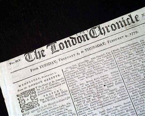 revolutionary war newspaper template newspaper during the revolutionary war era