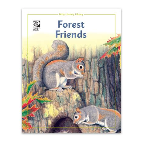 forest friends animals in forest for world book store