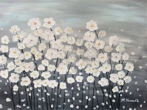 ideas to paint canvas painting ideas for beginners easy flower canvas