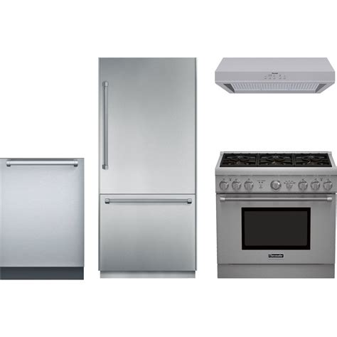 Thermador Kitchen Appliance Packages | thermador kitchen package with prg366gh gas range
