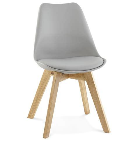 chaises moderne chaise moderne teki grise chaise scandinave