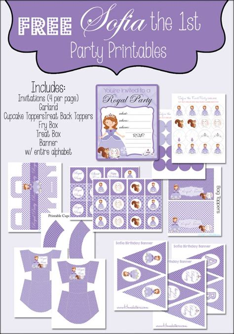 printable sofia the birthday and 31 similar items 25 best ideas about free printable on