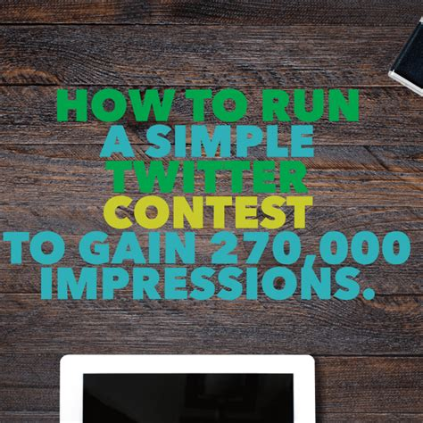 How To Run A Giveaway On Twitter - twitter contest for small business owners