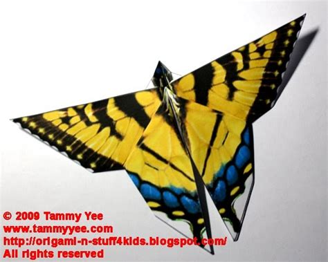 Origami Swallowtail Butterfly - origami n stuff 4 origami swallowtail butterfly