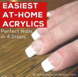 how to do acrylic nails at home nail paint design
