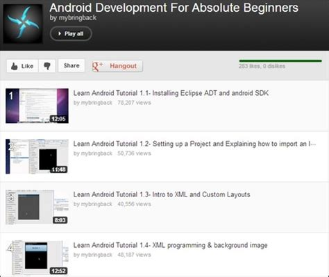android development for beginners 75 mobile app development tutorials start your app success today tripwire magazine