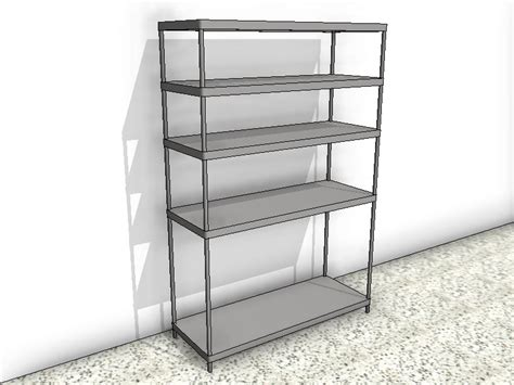 5 shelf stainless steel shelving unit design content