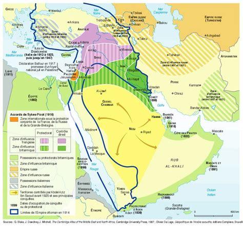 Carte De L Empire Ottoman En 1914 by Arabie Saoudite Cartes Et Documents