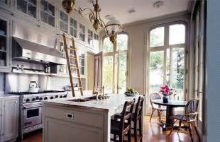 Kitchen With A Ladder 1000 Images About Library Ladder In Kitchen On